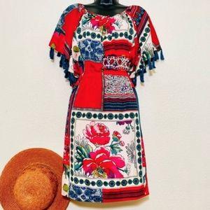 EUC Anthropologie Persian Rose Dress
